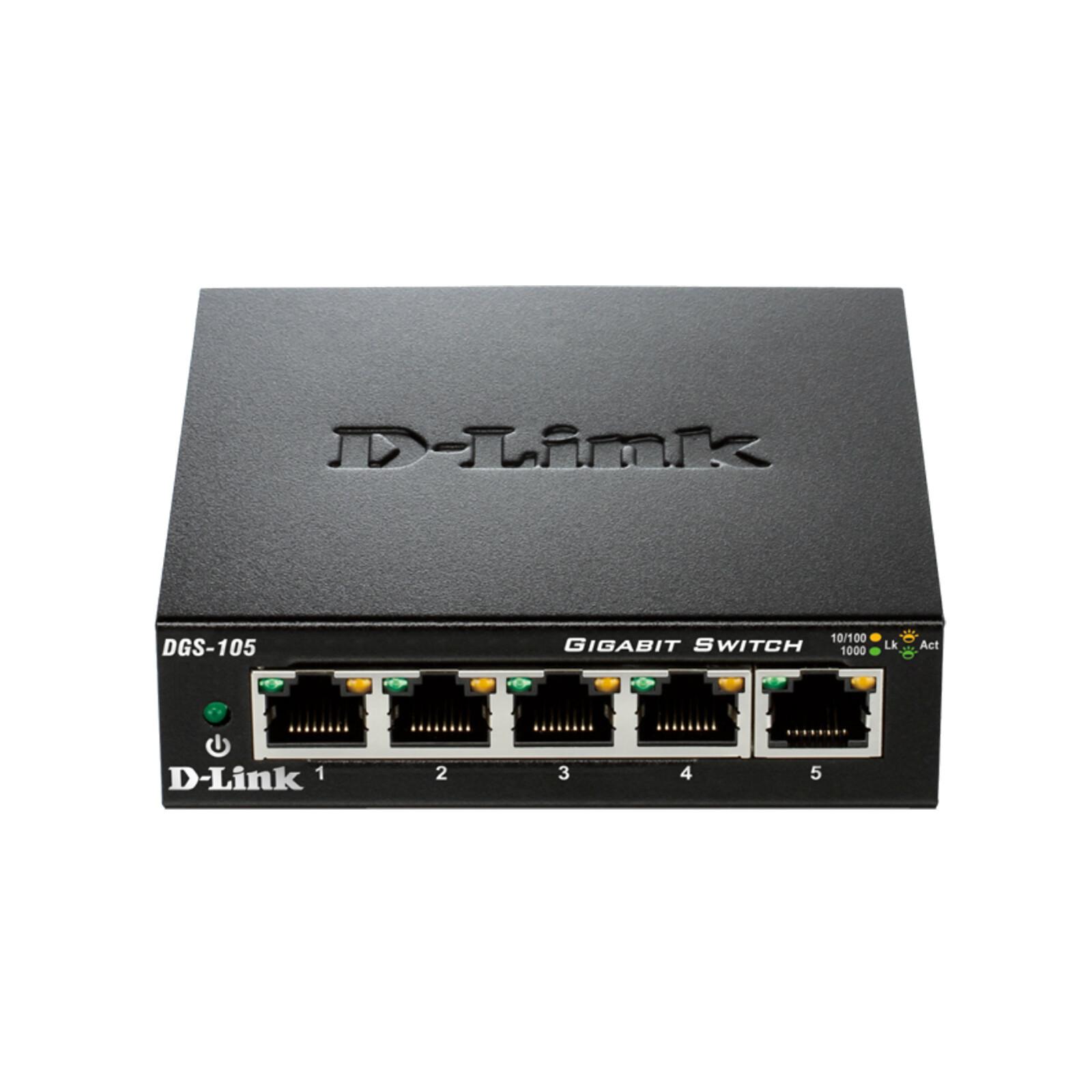 D-Link 5-Port Layer2 Gigabit Switch