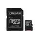 Kingston mSDXC 128GB UHS-I C10 80MBs Doppelpack