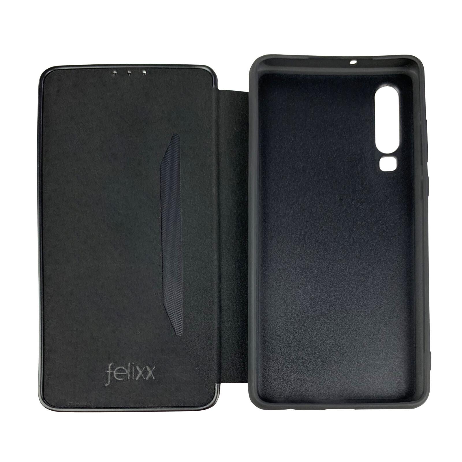 Felixx Book Tasche Verona Huawei P30 kirschrot