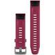 Garmin QuickFit 20 Uhrenband Silkon S/M Kirschrot