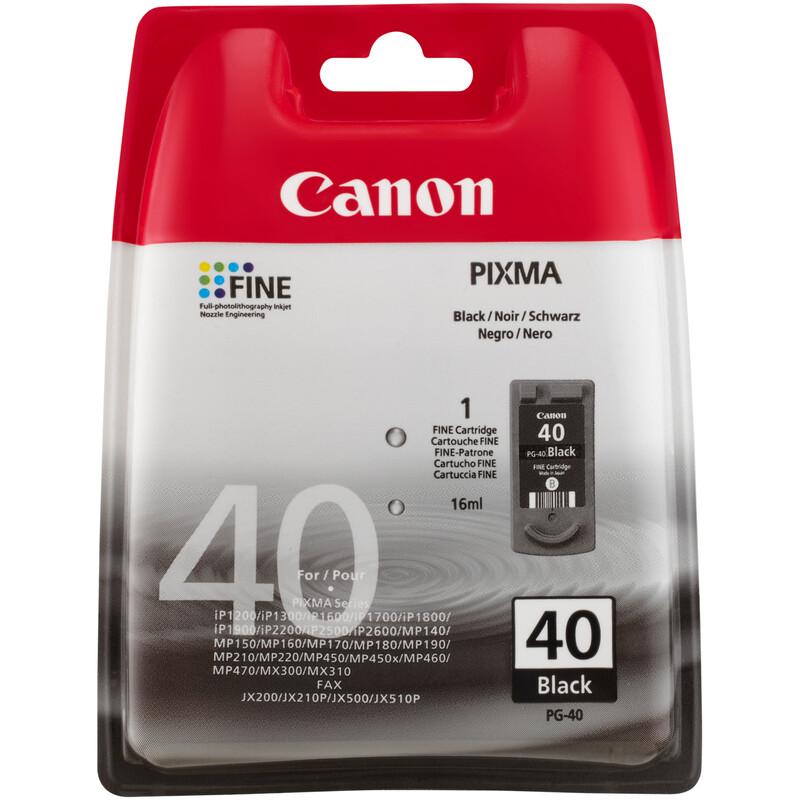 Canon PG-40 Tinte black 16ml