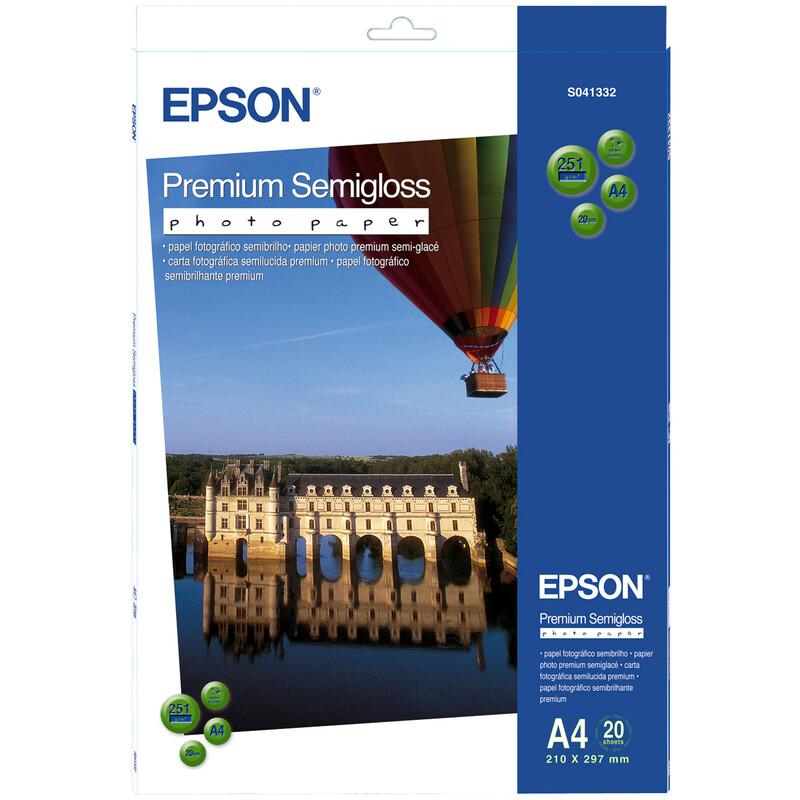 Epson S041332 A4 20Bl 251g Semigloss