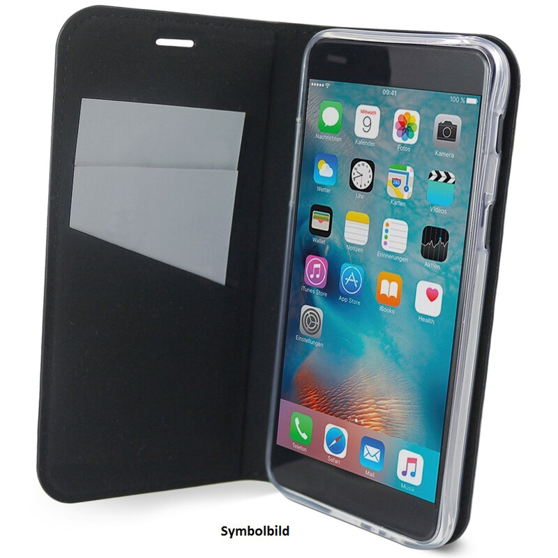 Axxtra Book Apple iPhone XR schwarz