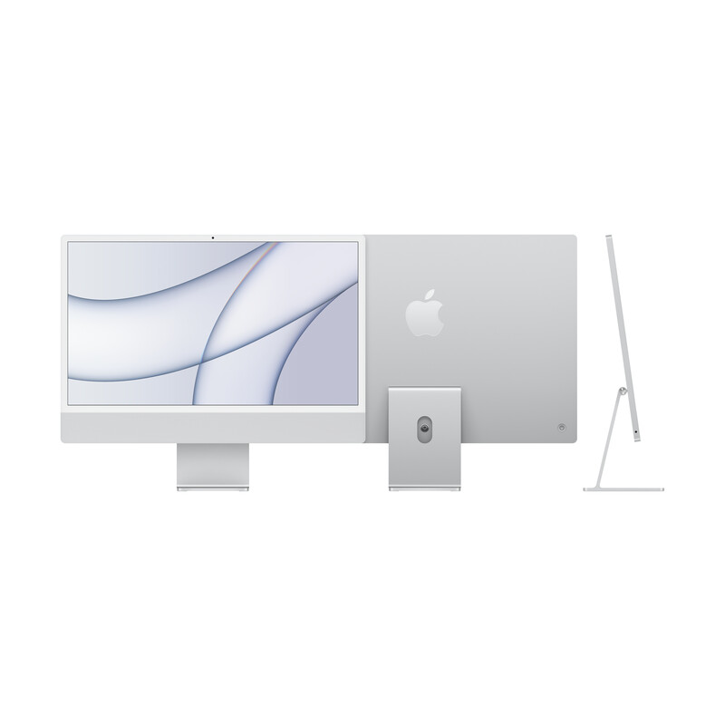 "Apple iMac 24"" 8-Core CPU/8-Core GPU/8GB/512GB SSD/silber"