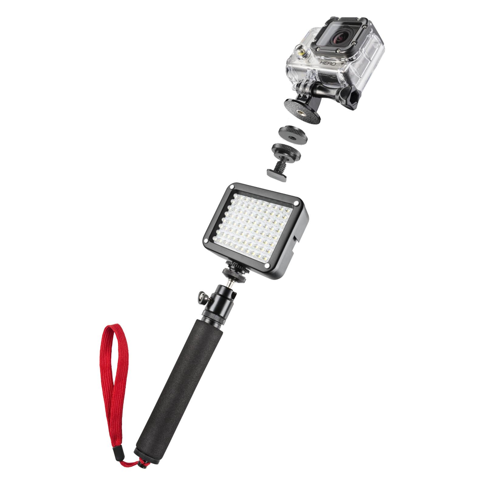 mantona GoPro Beleuchtungsset Selfie
