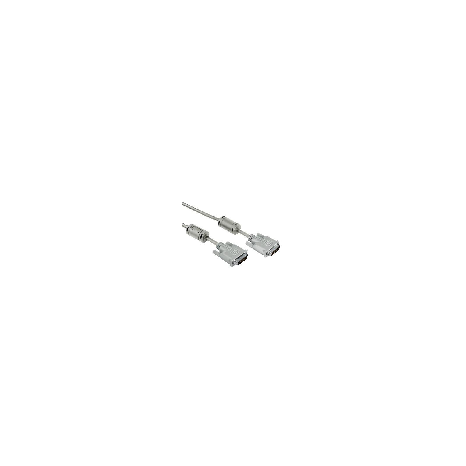 Hama 45077 DVI-Kabel Dual Link, Ferritkern, doppelt geschirm