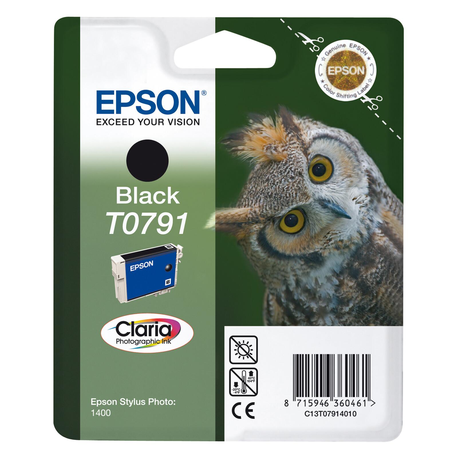 Epson T0791 Tinte Photo Black 11ml