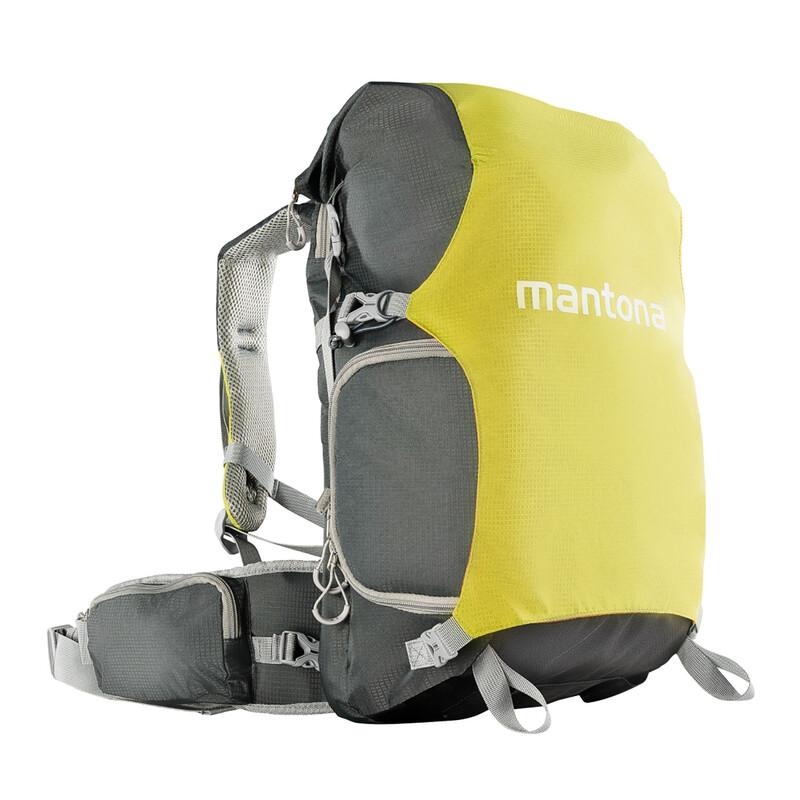 Mantona Kamerarucksack elementsPro 30 V2 grün