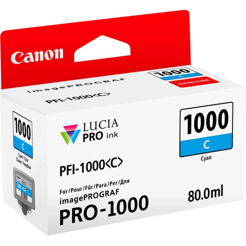 Canon PFI1000C cyan imagePrograf Pro 1000