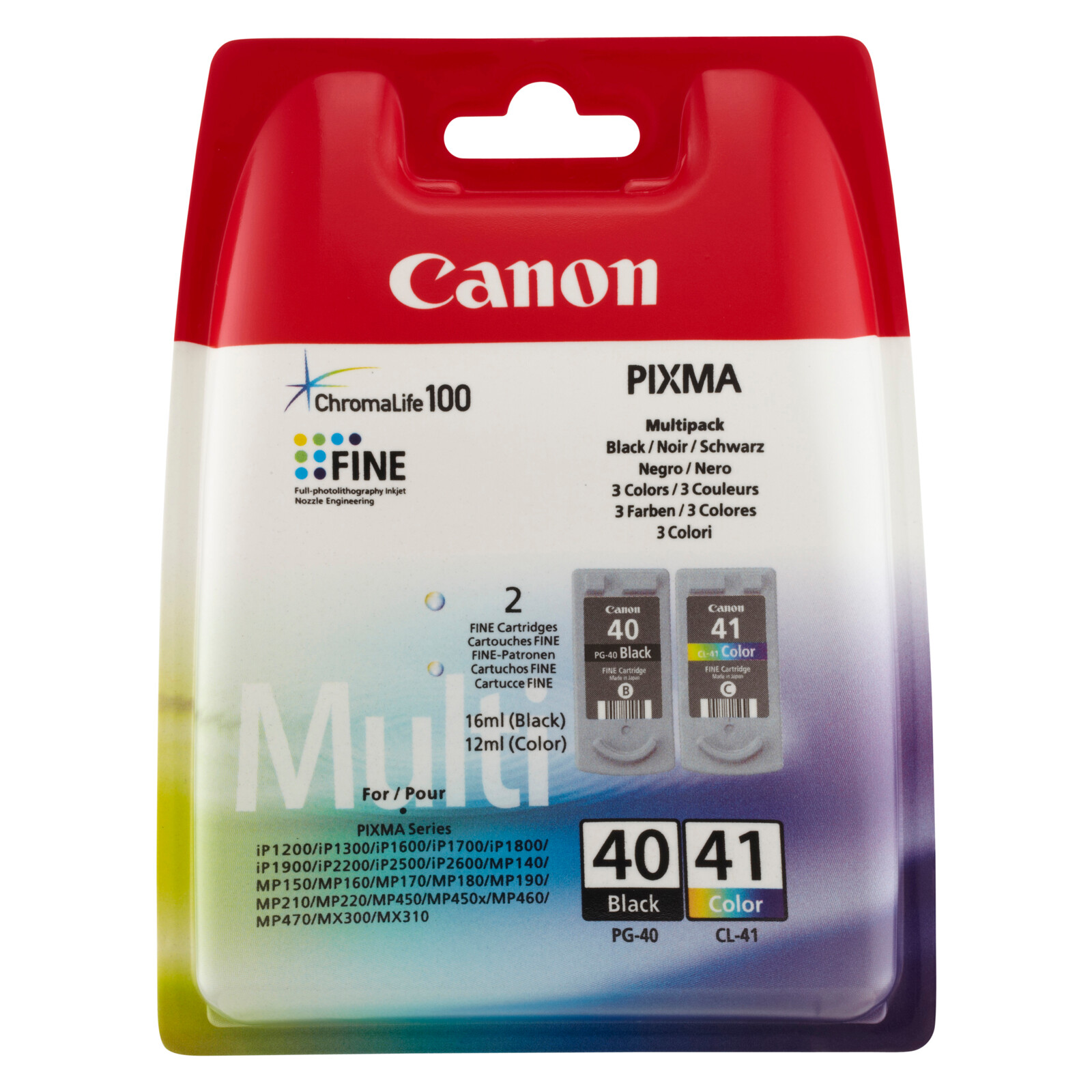 Canon PG40/CL41 Multipack