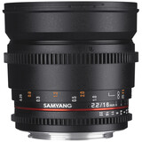 Samyang MF 16/2,2 Video APS-C II