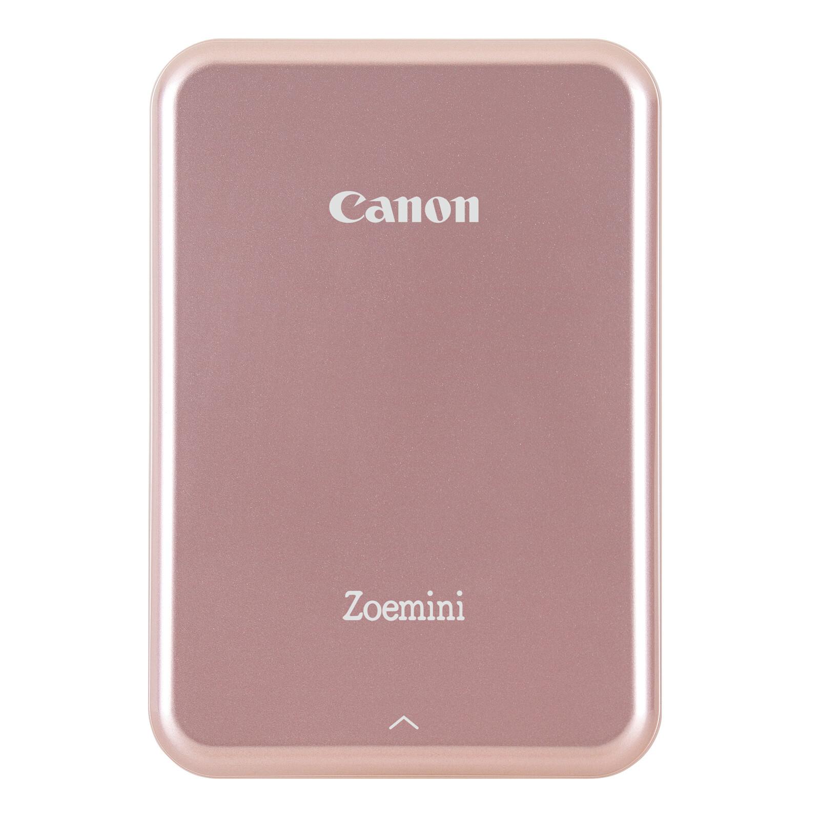 Canon Zoemini Fotodrucker Rose Gold