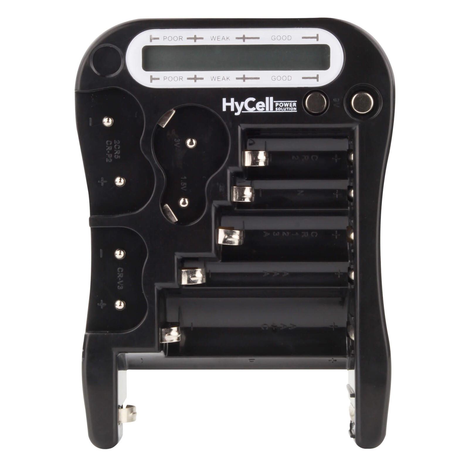 HyCell LCD Batterietester