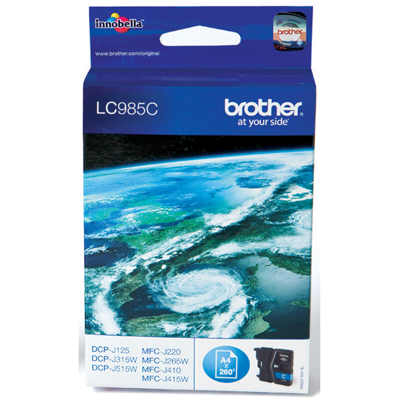 Brother LC-985C Tinte cyan