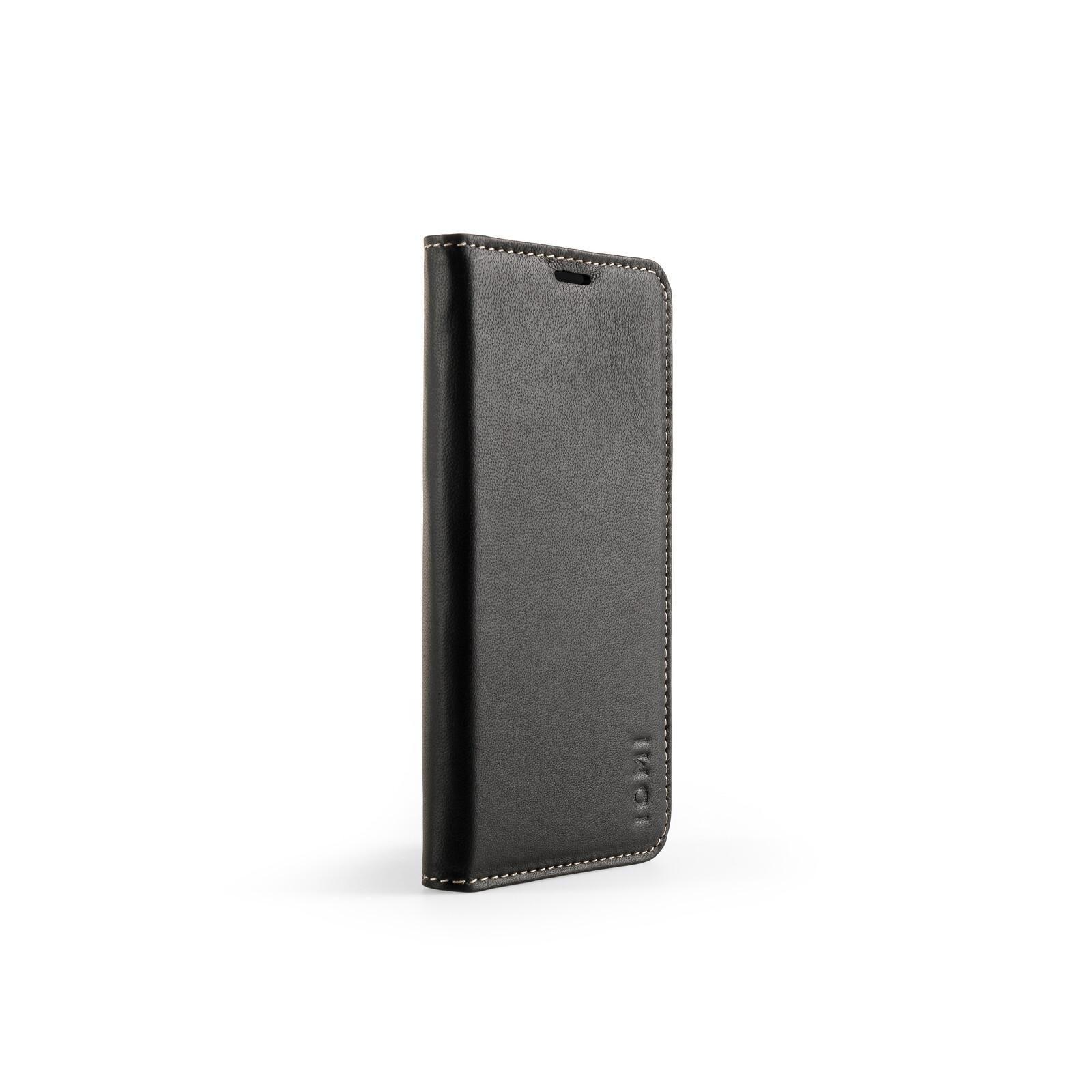 IOMI Schafleder Book Case Samsung Galaxy S9 schwarz