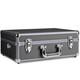 mantona Foto-Koffer Basic M, schwarz/metallic