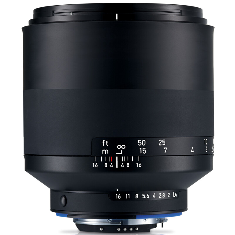 Zeiss Milvus 85/1,4 ZF.2 Nikon + UV Filter
