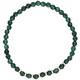 Armband Jade grün rosevergoldet echt Silber