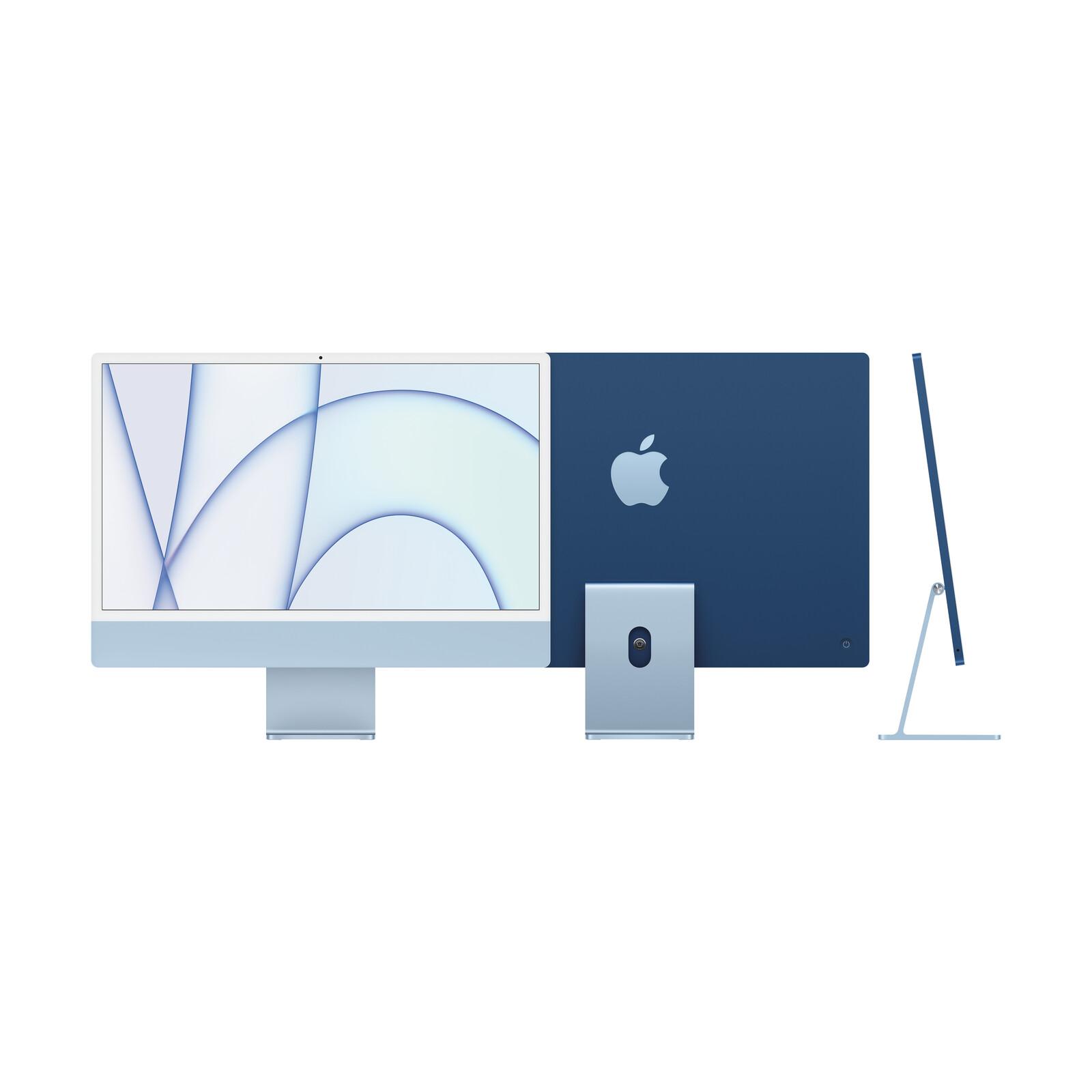 """Apple iMac 24"""" 8-Core CPU/8-Core GPU/8GB/512GB SSD/blau"""
