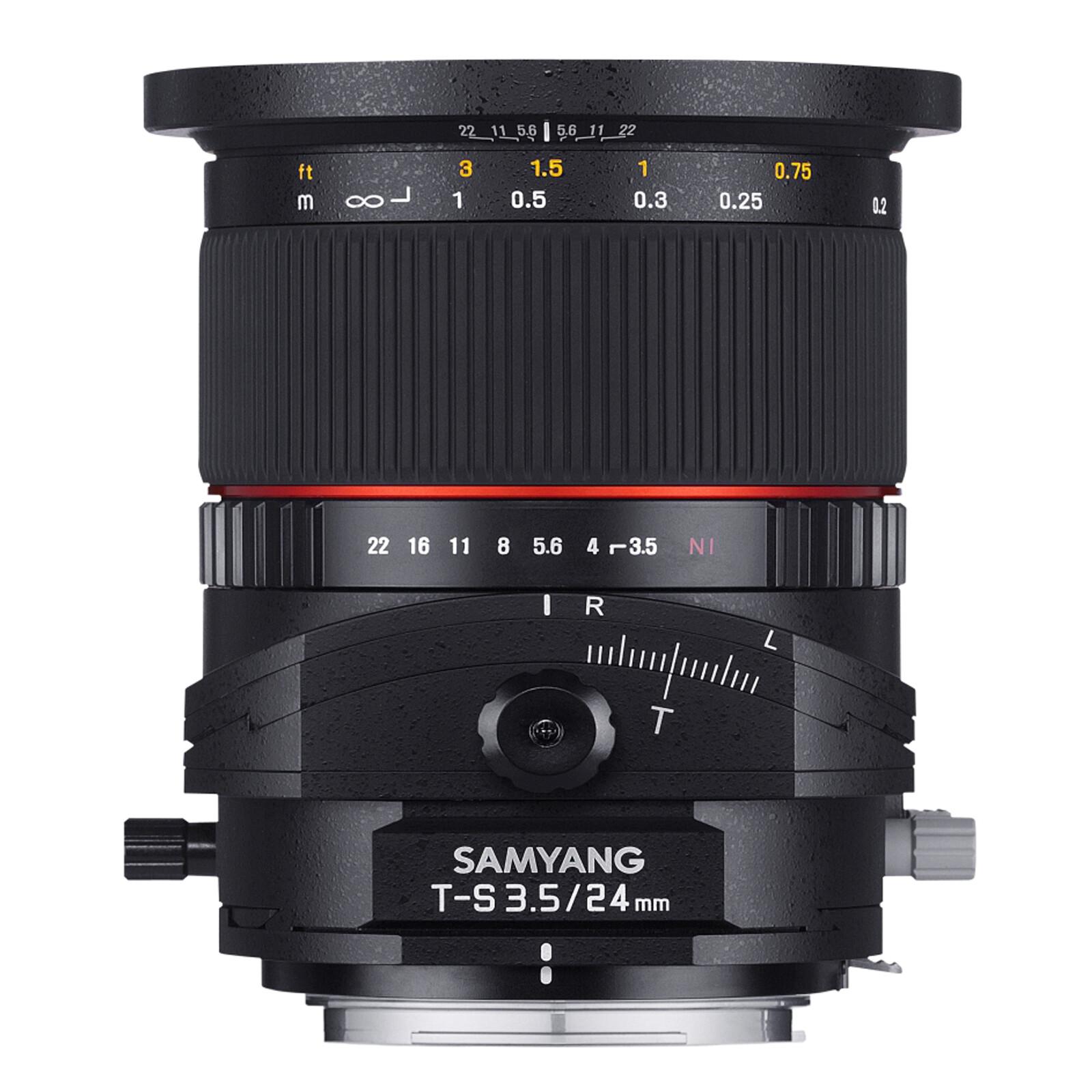 Samyang MF 24/3,5 T/S Pentax K + UV Filter