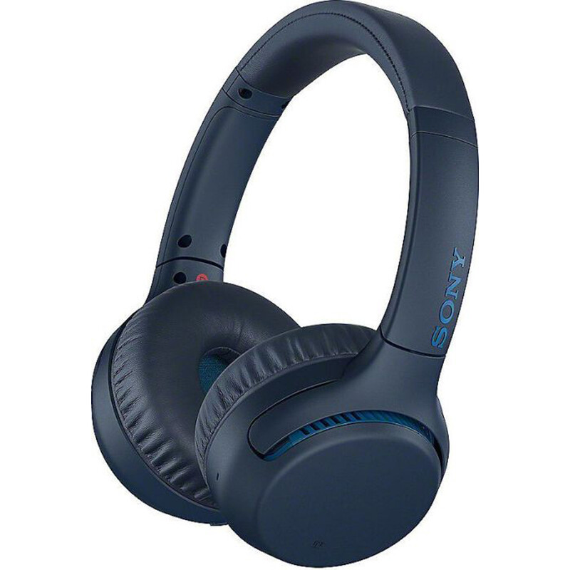 Sony WH-XB700L BT On Ear blau