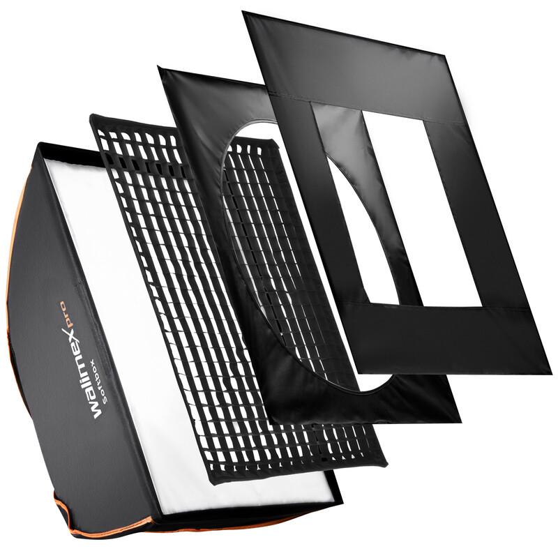 walimex pro Softbox PLUS OL 75x150cm C&CR Serie
