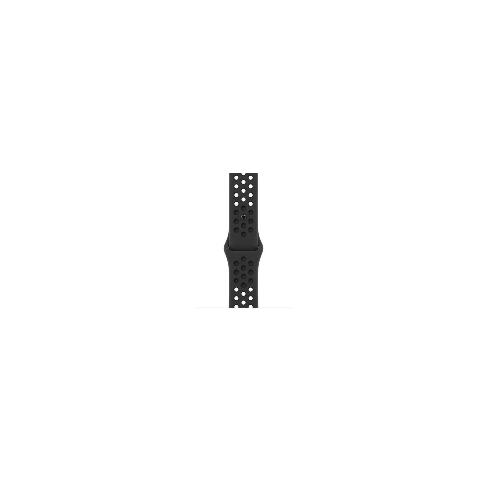 Apple Watch 45mm Nike Sportarmband anthrazit/schwarz