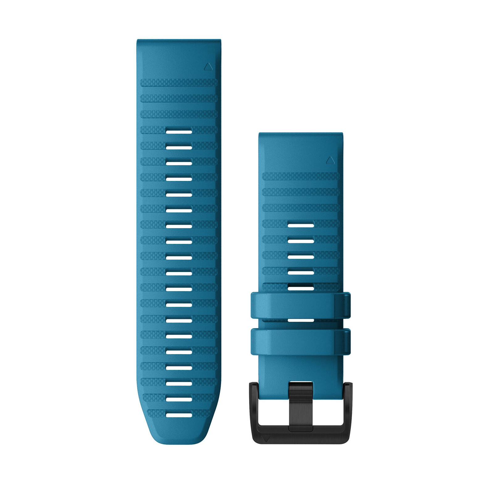 Garmin Quickfit Band 26mm Silikon lichtblau schwarz
