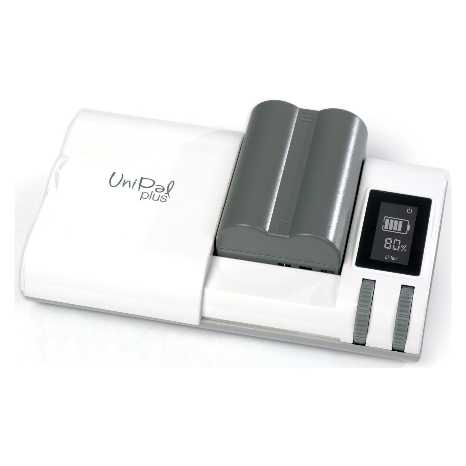 Hähnel Unipal Plus Universal Ladegerät mit LCD-Anzeige