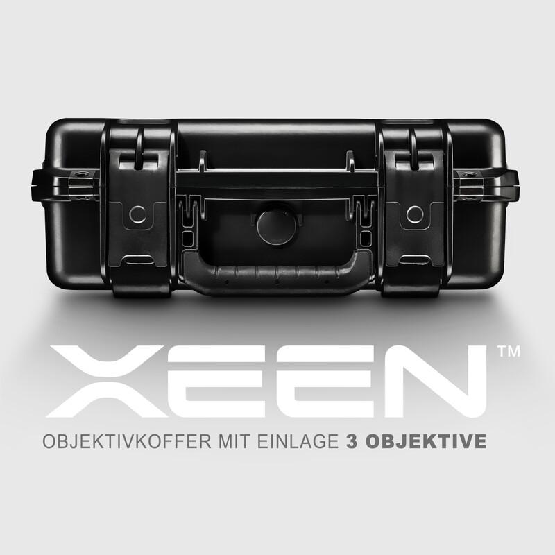 XEEN CF Objektivkoffer mit Einlage 3 Objektive