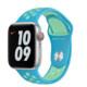 Apple Watch 40mm Nike Sportarmband chlorine blue/green