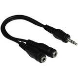 Hama 48925 3,5-mm-Klinkenstecker Stereo - 2x 3,5-mm-Klinkenk
