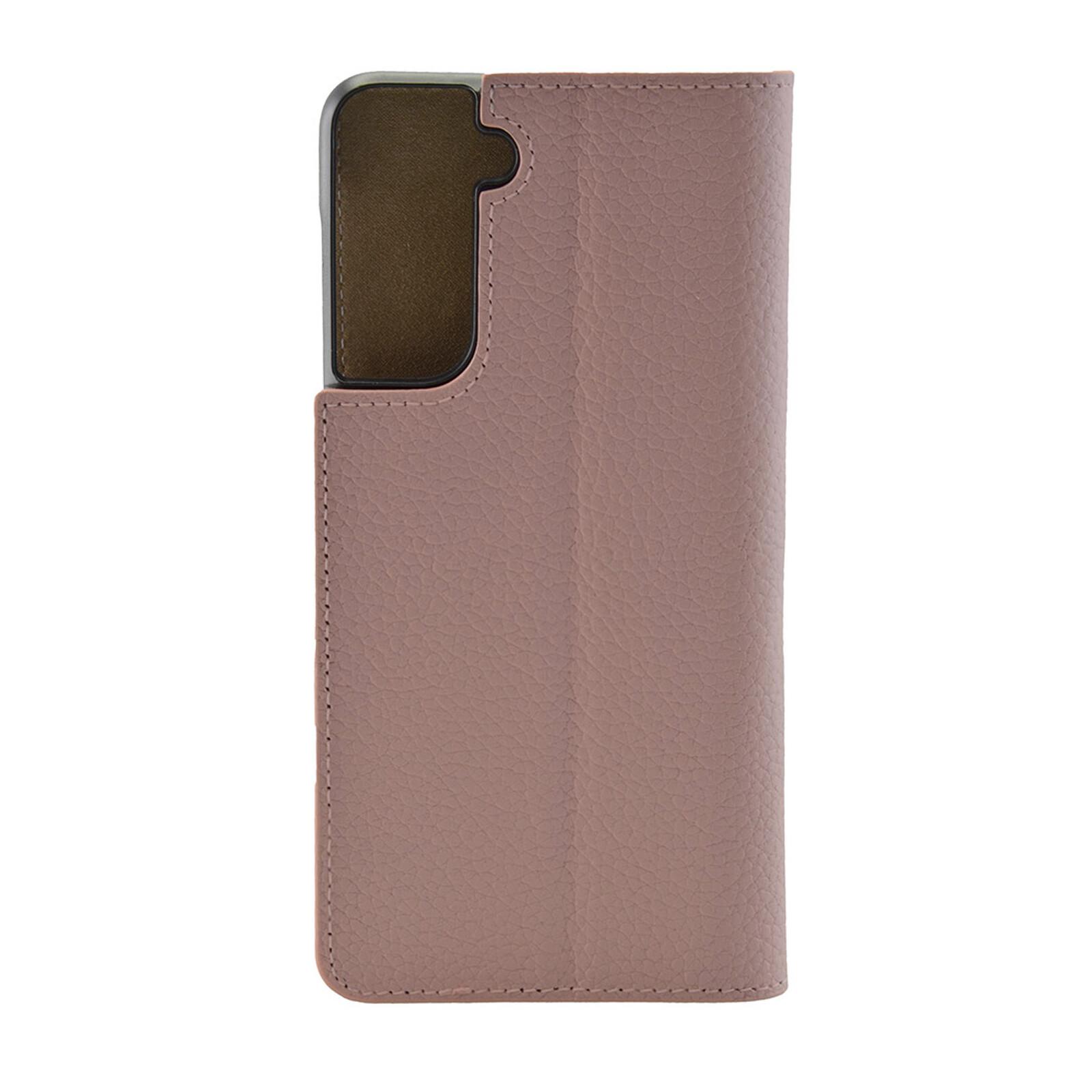 Galeli Book MARC Samsung Galaxy S21 rose tan