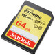SanDisk SDXC 64GB Extreme V30 UHS-I U3 Class 10 150MB/s
