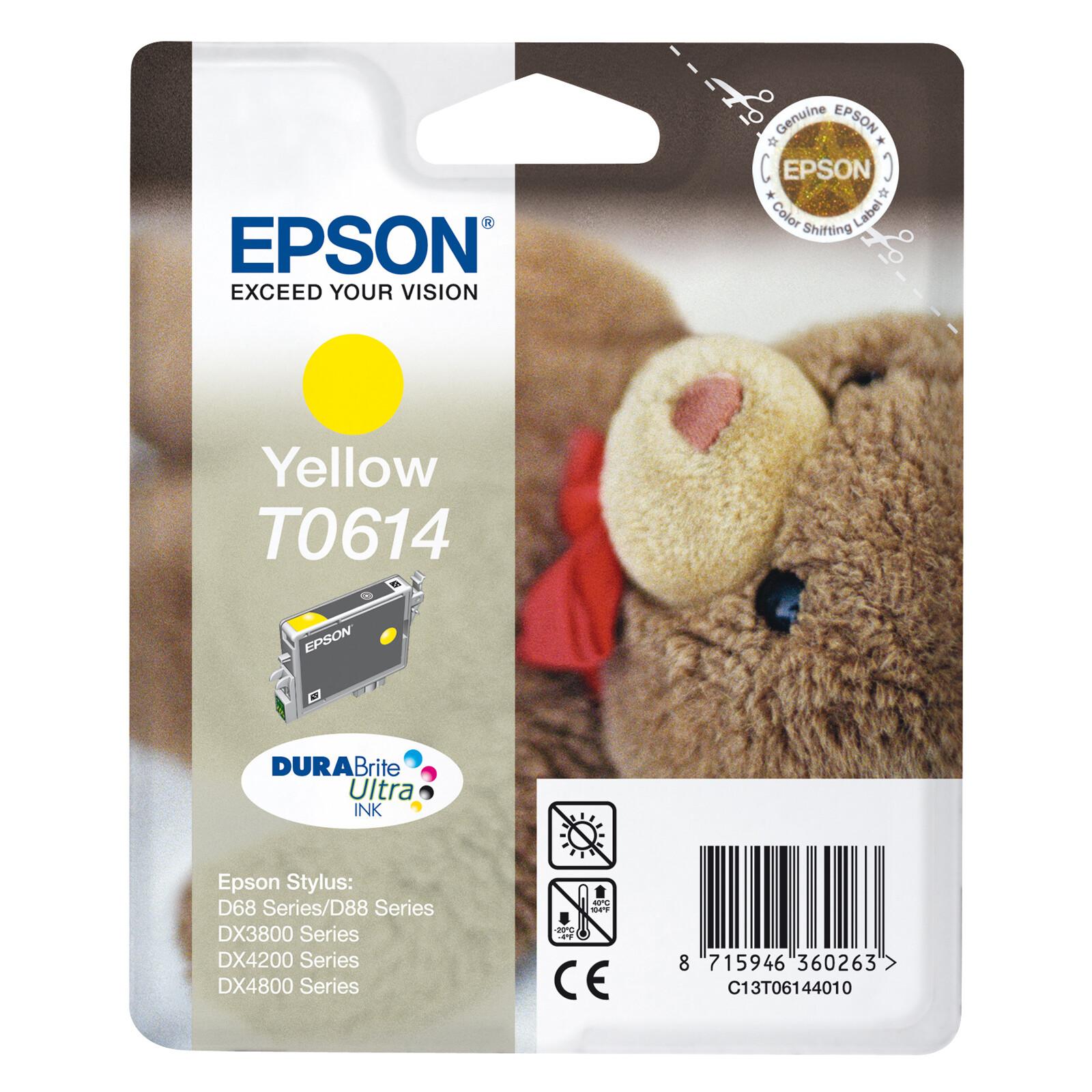 Epson T0614 Tinte Yellow 8ml