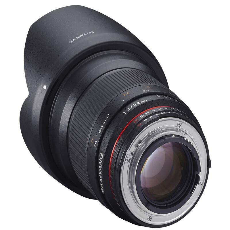 Samyang MF 24/1,4 Nikon F AE + UV Filter