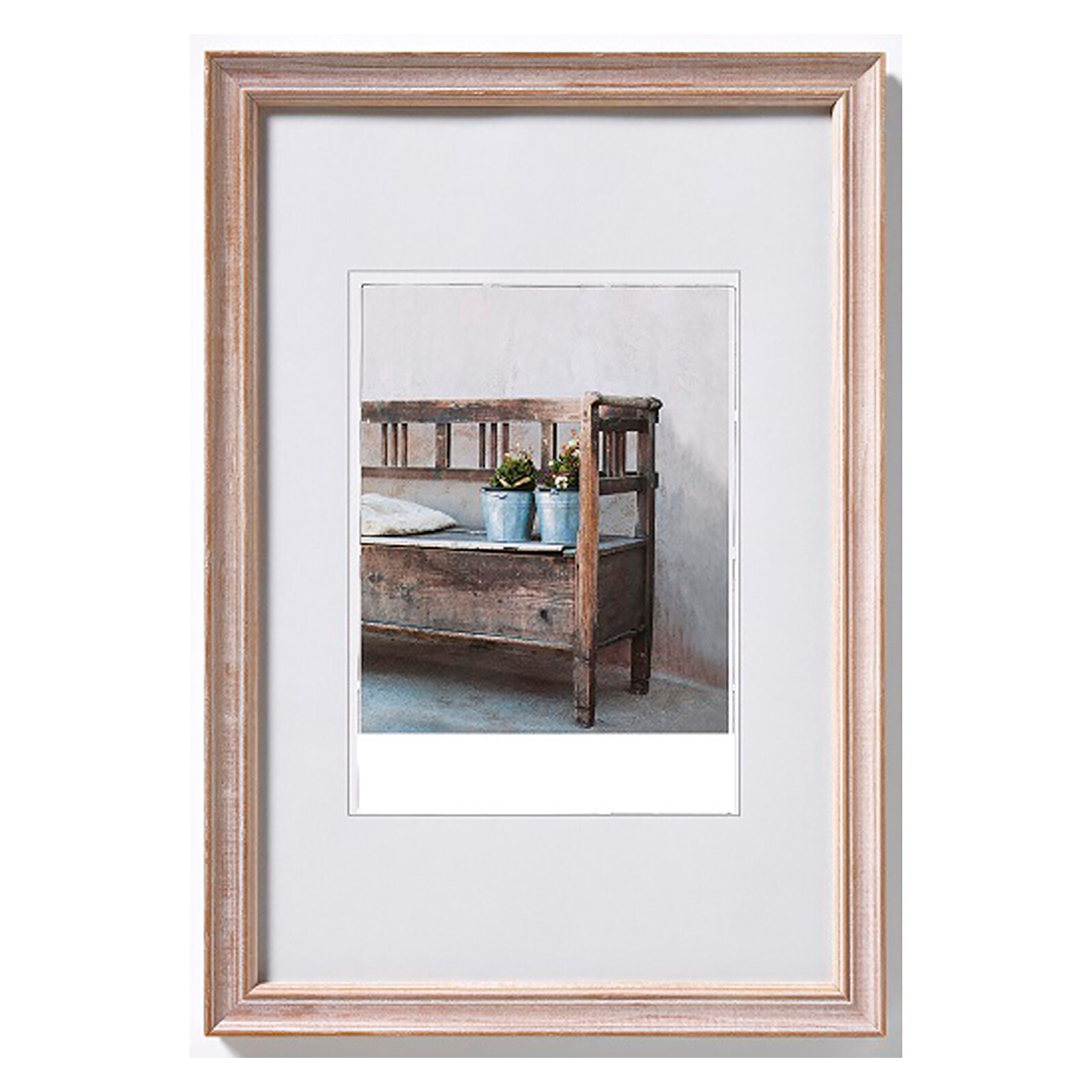 Bilderrahmen Bench 10x15cm Holz braun