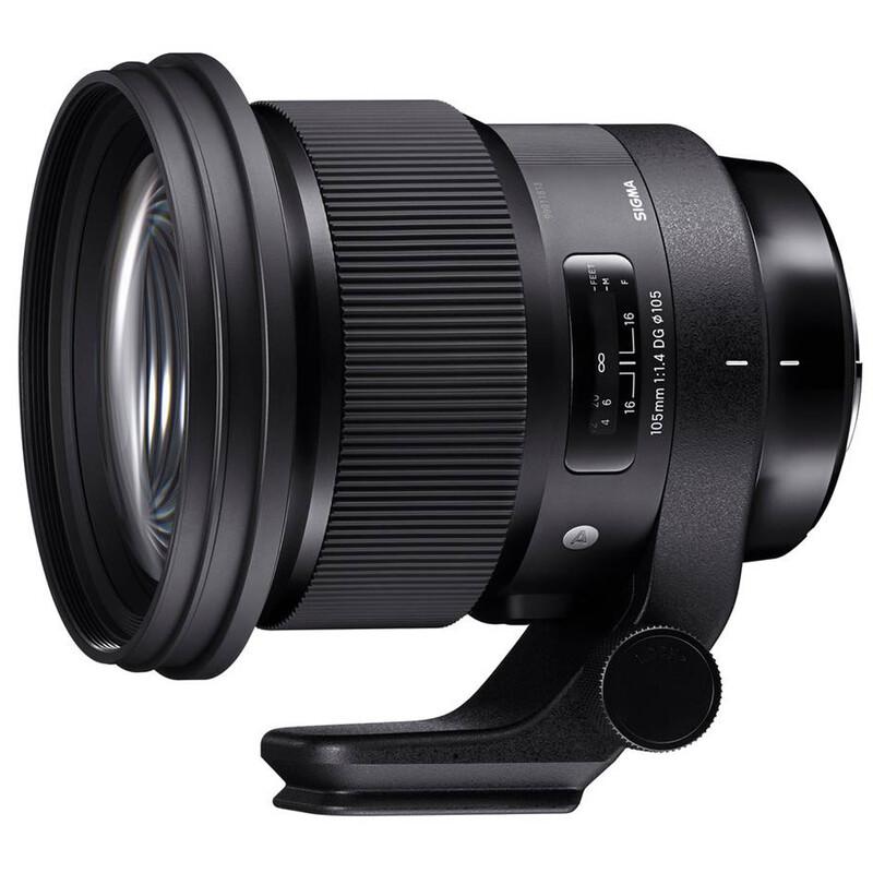 Sigma ART 105/1,4 DG HSM Nikon + UV Filter