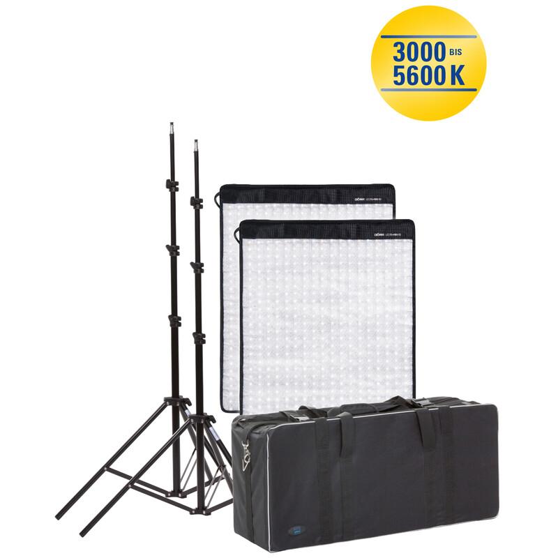 Dörr FX-4555 BC Set LED Flex Panel 2er-Set inkl. Leuchtensta