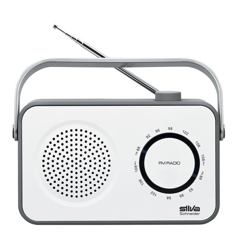 Silva M295 TR Port Radio weiss
