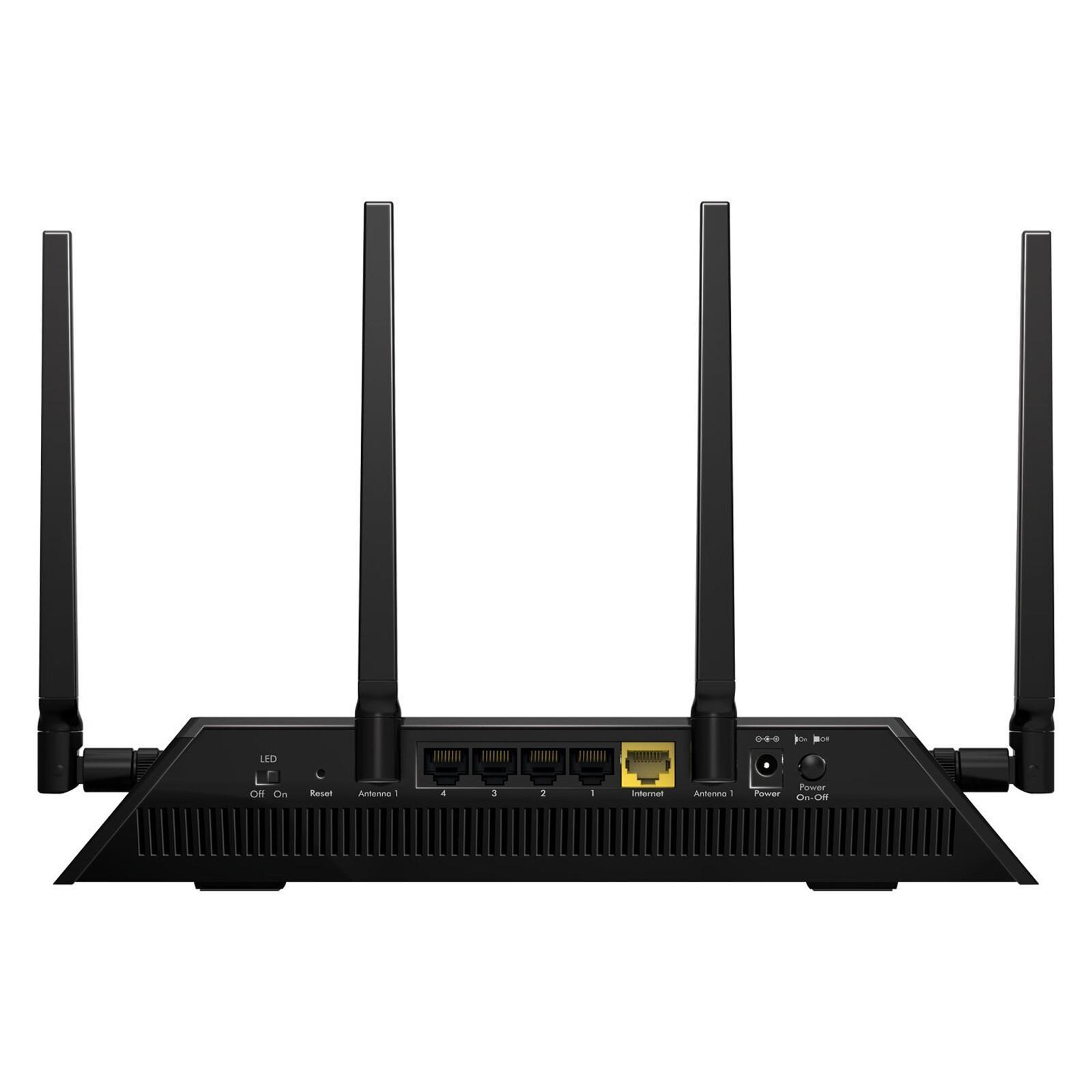 Netgear AC2600 Nighthawk X4S Smart WLAN Gaming Router R7800