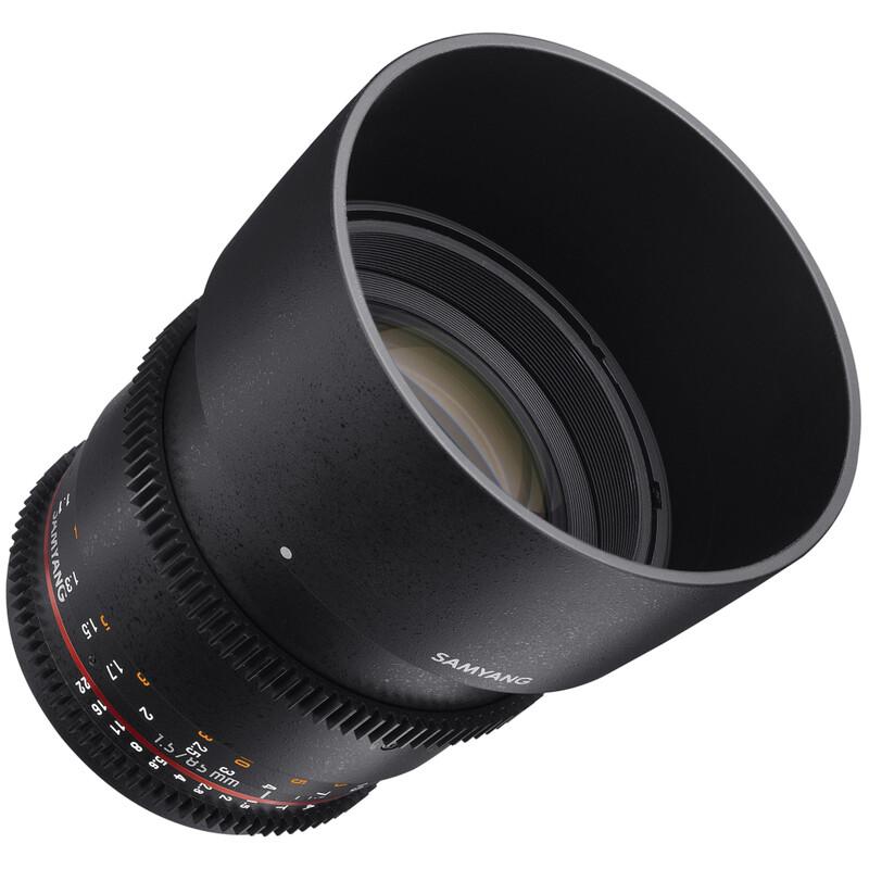 Samyang MF 85/1,5 Video DSLR II MFT