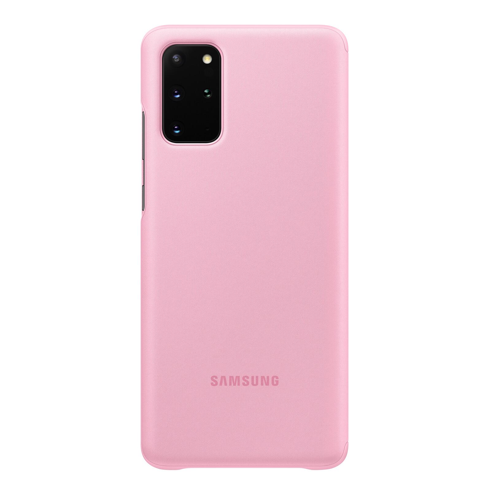 Samsung Book Tasche C-View Galaxy S20+ pink