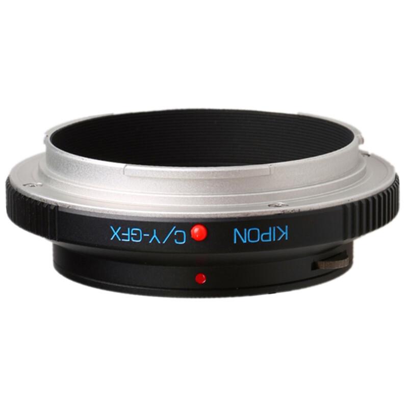 Kipon Adapter für Contax / Yashica auf Fuji GFX