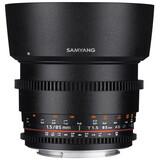 Samyang MF 85/1,5 Video DSLR II