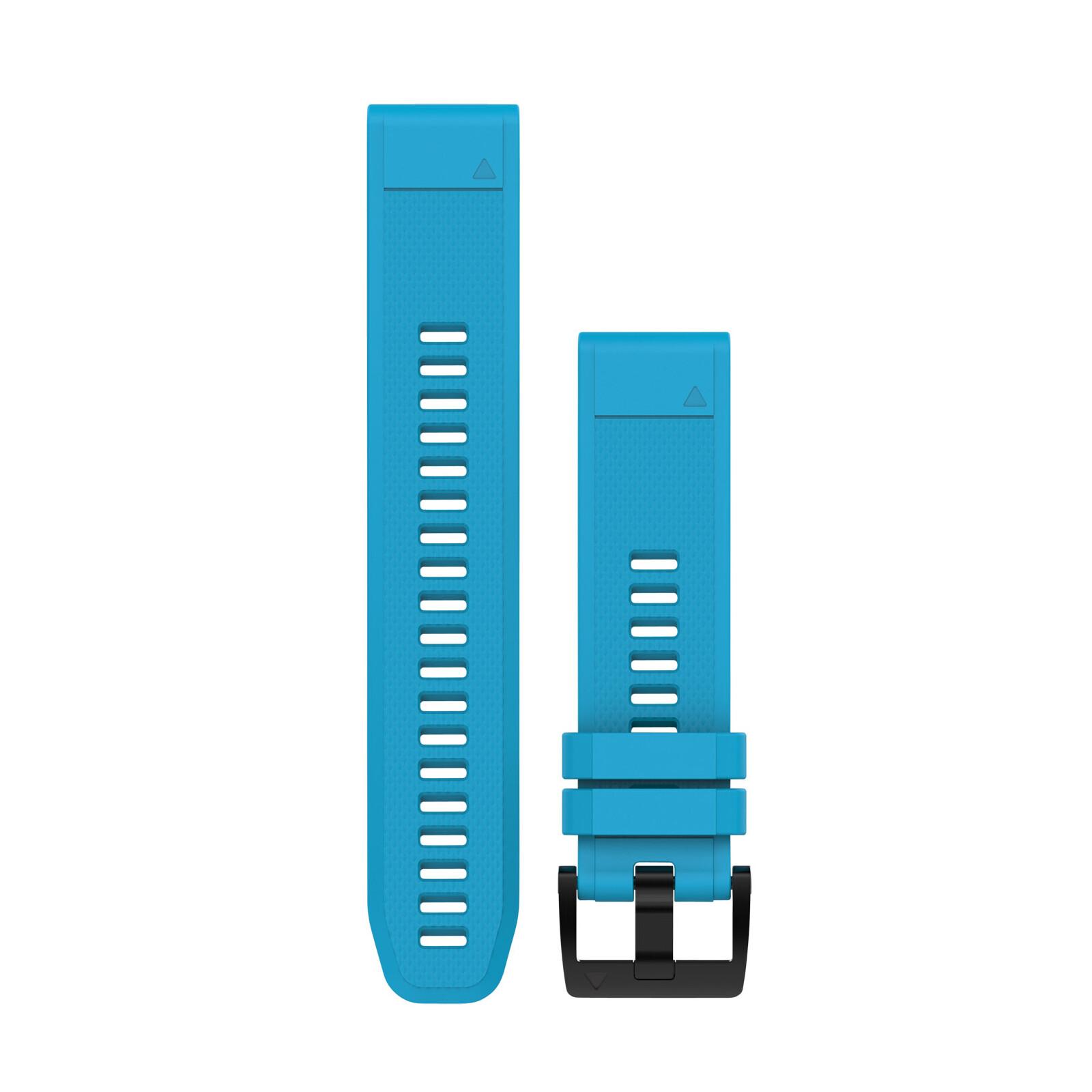 Garmin QuickFit 22 Uhrenband Silikon Cyan Blau