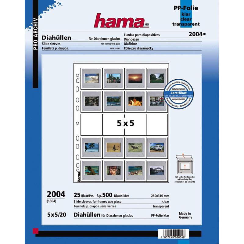 Hama 2004 Dia Hüllen 25 Stk.