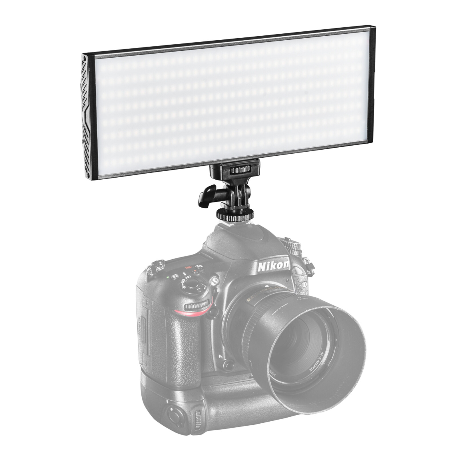 Walimex pro On Camera LED Niova 300 Bi Color