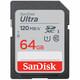 SanDisk SDHC 64GB Ultra 120MB/s