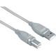 Hama 45021 USB-2.0-Kabel, geschirmt, Grau, 1,80 m
